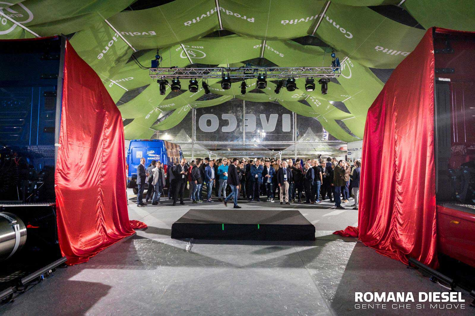 Romana Diesel October Truck Fest 2019 presentaziono nuovo IVECO S-WAY