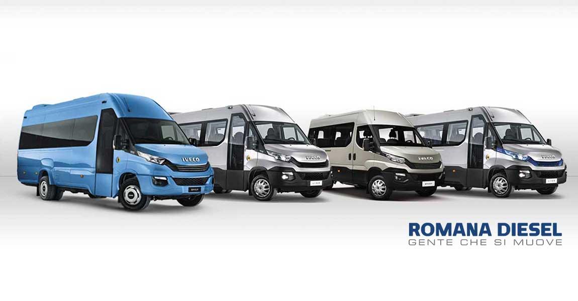 Un Daily minibus per ogni esigenza di trasporto
