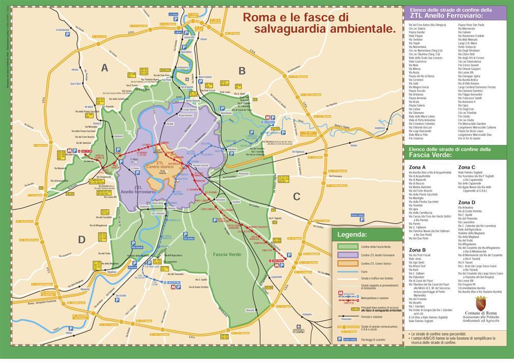 anello ferroviario roma euro 3 divieto
