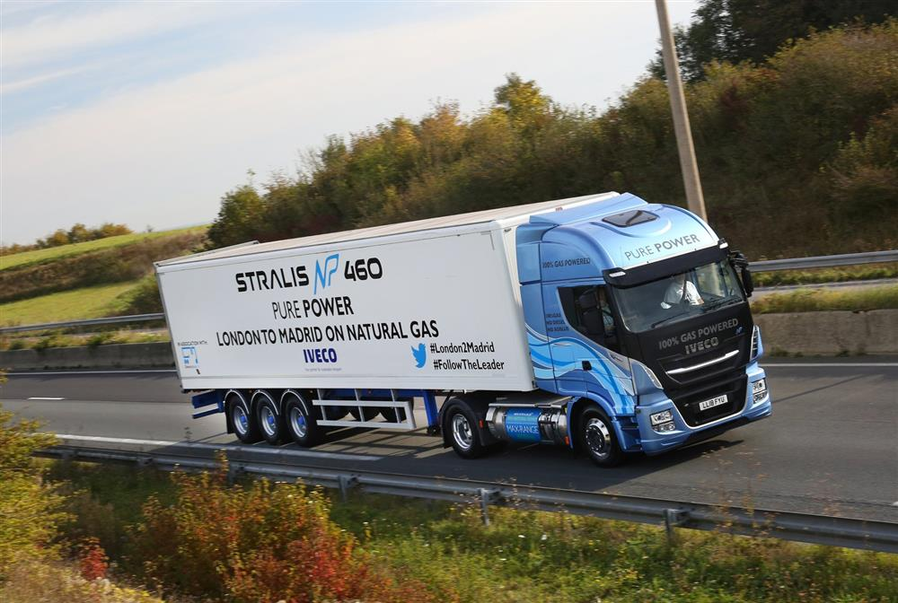 Iveco Stralis Np London Madris on LNG