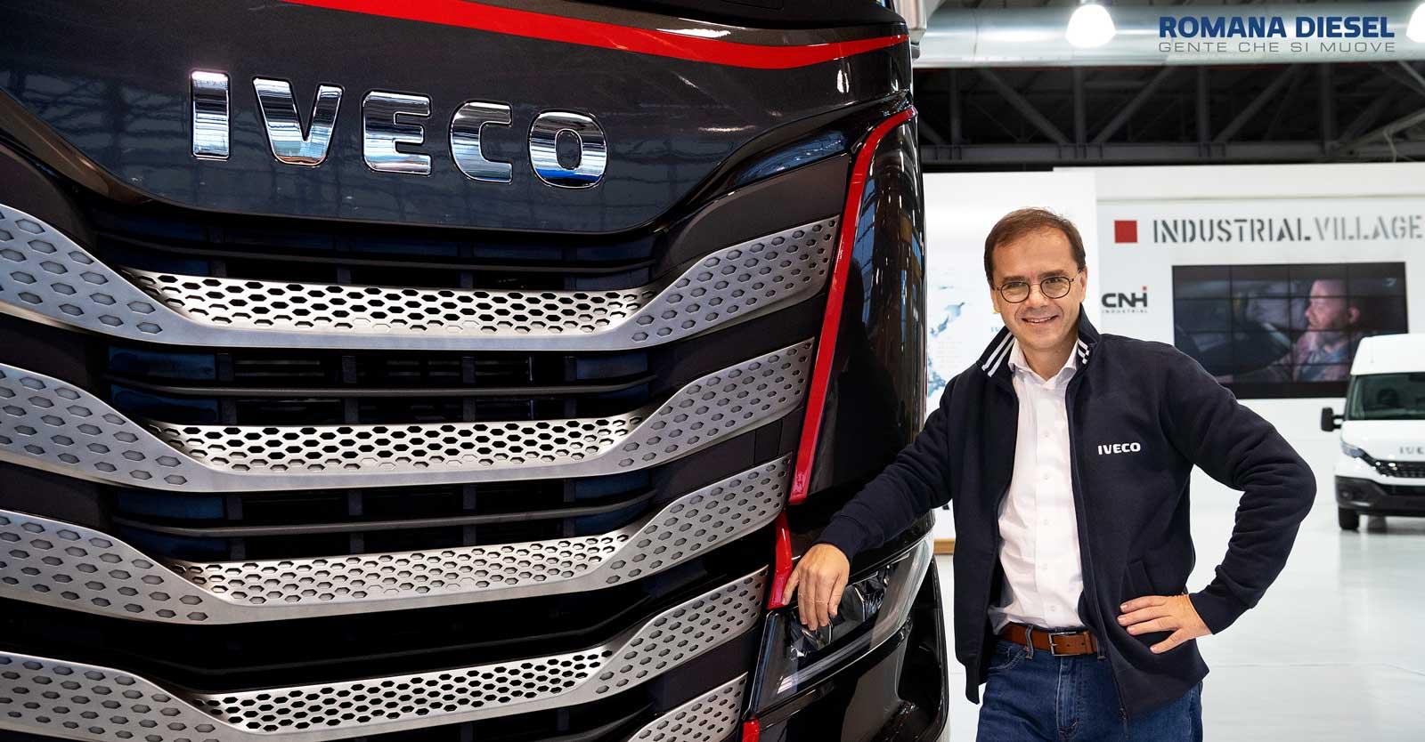 IVECO  annuncia la nomina del nuovo Brand President Thomas Hilse