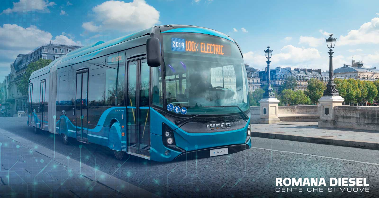 IVECO bus connettività servizi