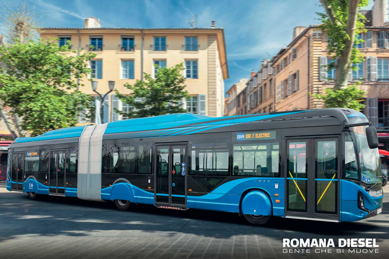 IVECO E-WAY di HEULIEZ autobus elettrico