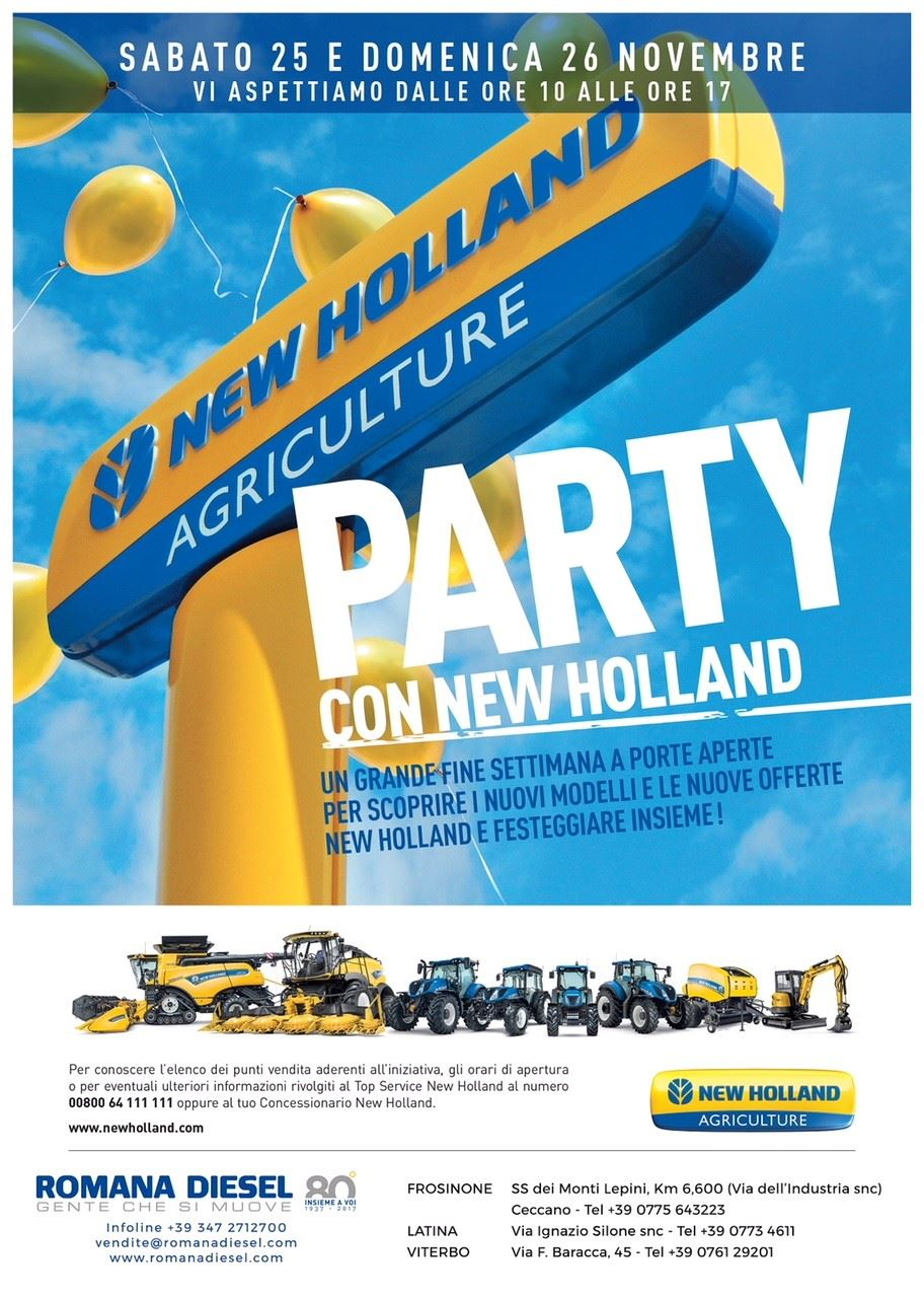 party-con-new-holland-romana-diesel