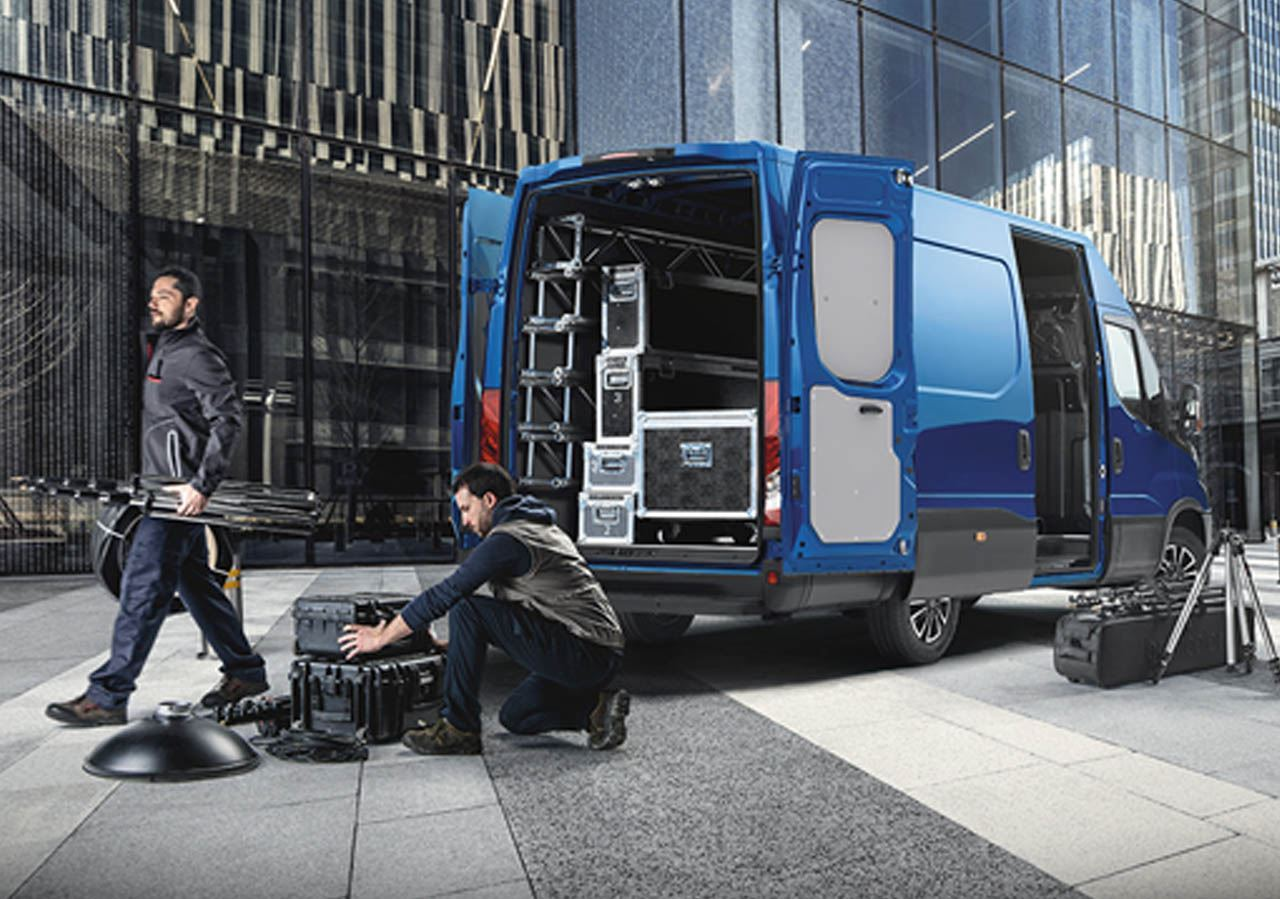 Nuovo iveco daily HI-MATIC 2019
